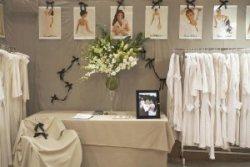 Women's cotton sleepwear Ribbons of flowers