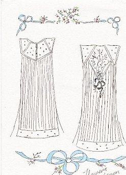 Luxury silk nightwear Cecile