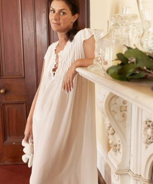 Women's luxury silk sleepwear Alexandra.
