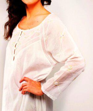 cotton nightie Rose Trellis