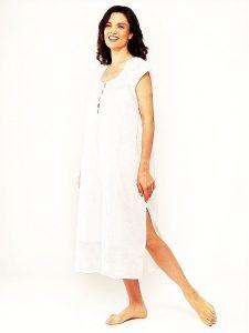 Women's cotton sleepwear Rose Trellis. Luxury cotton nightgownss