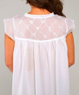 Plus size cotton nightie Caroline