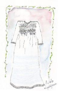 Luxury cotton nightgown Lola