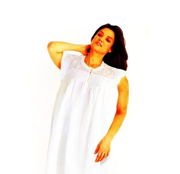Plus size Caroline cotton nightie