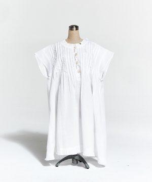 Girl's cotton nightie Enfant Ribbons of flowers. Girl's cotton sleepwear