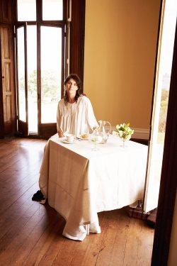 Women's luxury silk nightie, Michelle ear Michelle