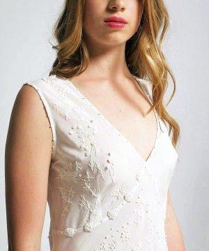 Women's luxury silk sleepwear scarlet