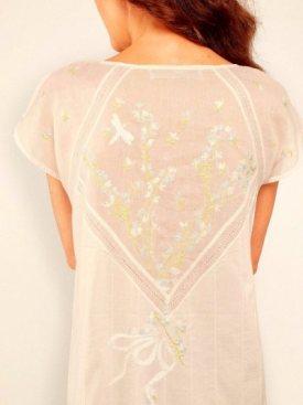 Luxury silk nightwear, Cecile.