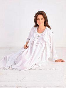 Women's cotton robe Marie Antoinette