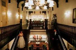 A wedding at the Raffles Hotel