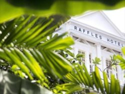 Famous celebrities have stayed at the Raffles Hotel