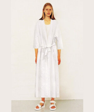 White-cotton-robe-White-Queen-in-luxury-Swiss-Dot-cotton