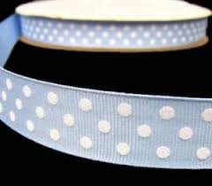 Swiss dot cotton ribbons