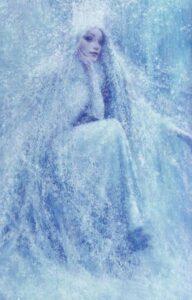 Blue Snow queen